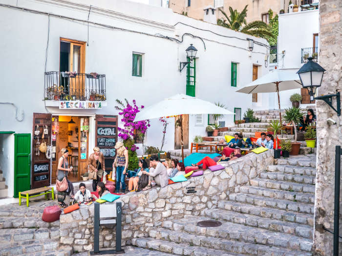 s'Escalinata in Ibiza's Old Town