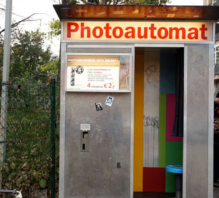 Photoautomat in Berlin