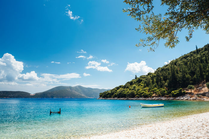 Beach In Kefalonia, Greece