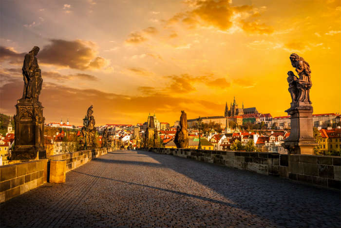 Prague itinerary-Charles Bridge
