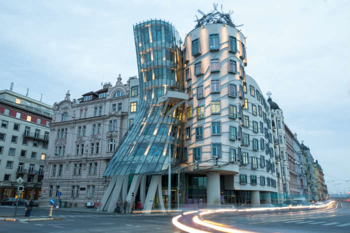 Prague itinerary-Dancing House