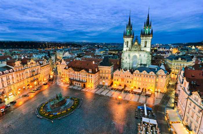 Prague itinerary-Old Town Square