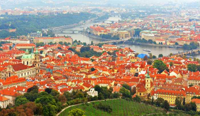 Prague itinerary-Petrin Hill