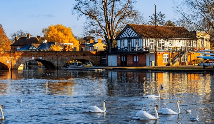 River In Stratford Upon Avon