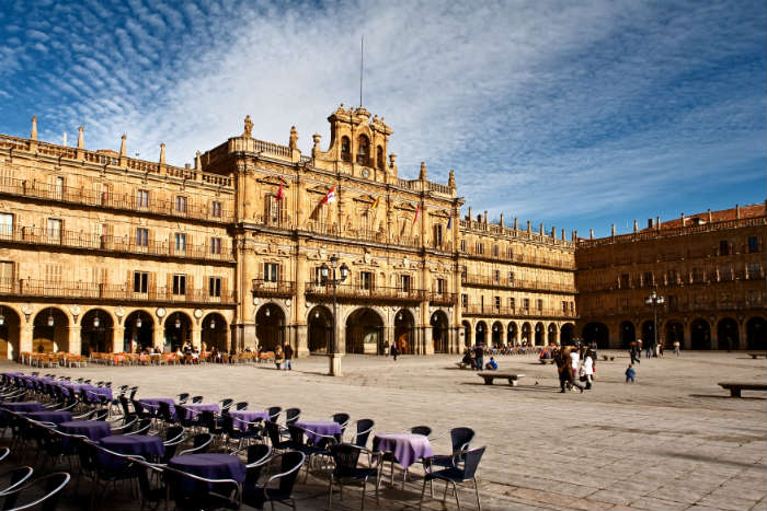 Plaza de Mayor in Salamanca