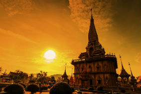 Temple in Thailand Phuket