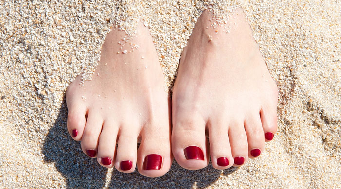 beach style tips-look after your feet