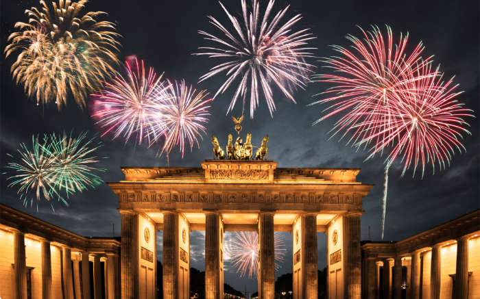 Berlin, New Year's Eve