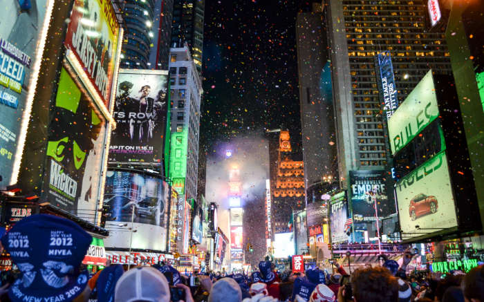 New York, New Year's Eve