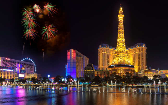 Las Vegas, New Year's Eve