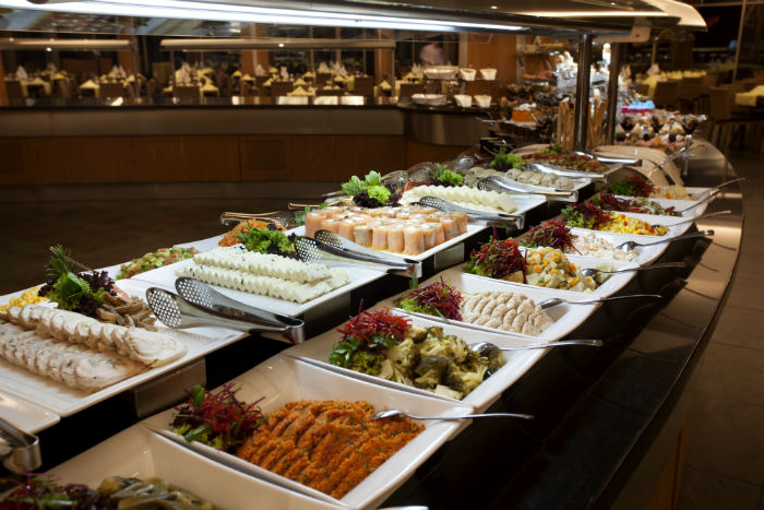 Buffet In Restaurant