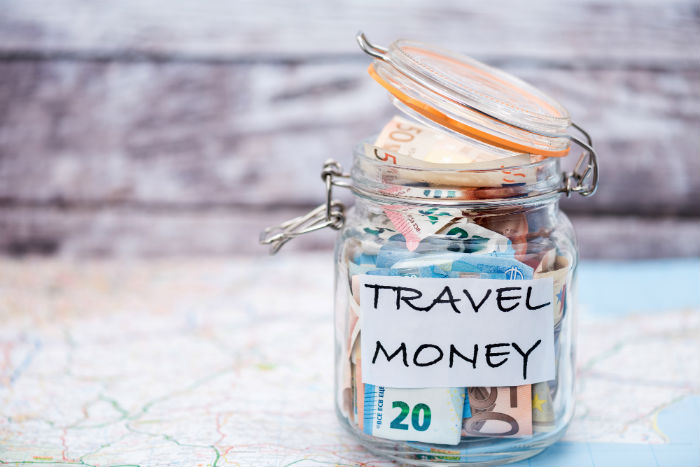 Travel Money In A Jar