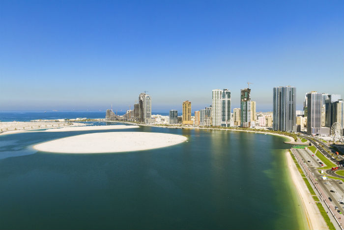 Beach In Sharjah, UAE