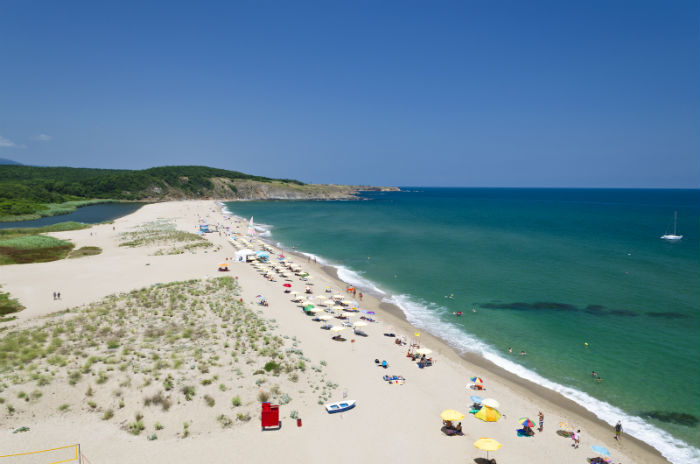 Beach In Bulgaria