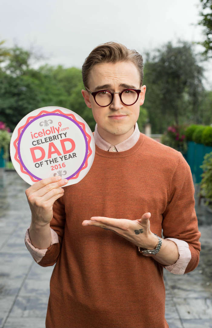 Tom Fletcher winner of Celebrity Dad of the Year 2016