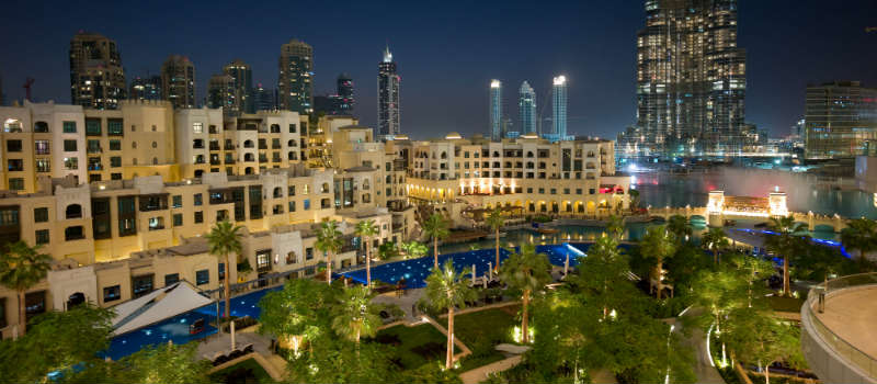 Dubai Downtown hotel