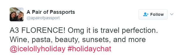 February 2017 #HolidayChat - A Pair Of Passports