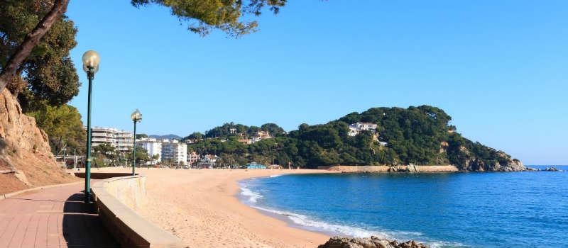 Fenals beach, Costa Brava