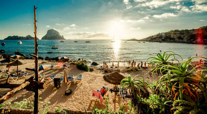 Ibiza beach, Balearic Islands