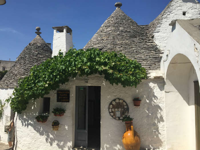 Iconic Houses In Alberobello