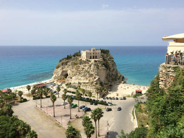 Coastline In Tropea