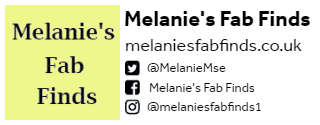 Melanie's Fab Finds Guest Author Bio