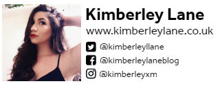 Kimberley Lane Guest Author Bio