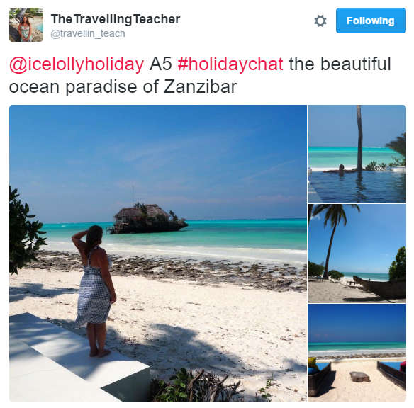 October #HolidayChat - Travellin Teach