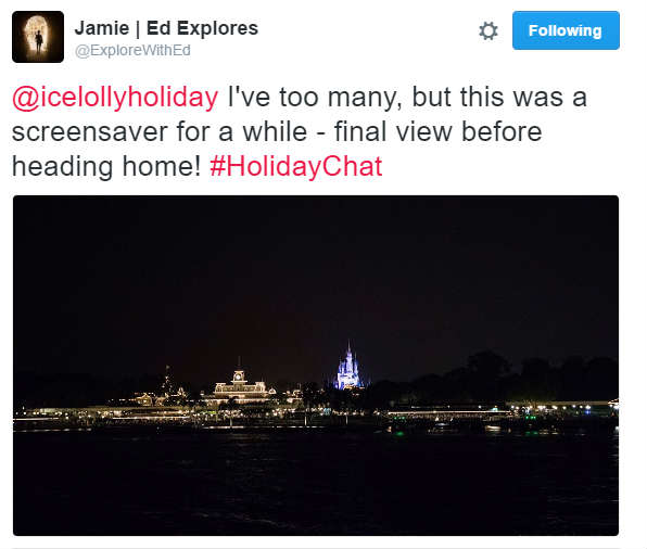 October #HolidayChat - Explore With Ed