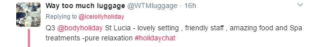 May 2017 #HolidayChat – WTMLuggage