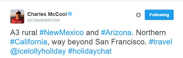 January #HolidayChat - CharlesMcCool