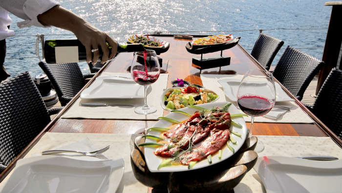Food by sea in Croatia