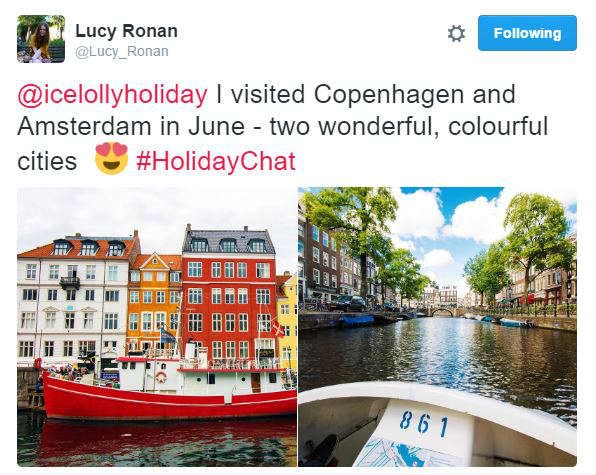 icelolly.com September HolidayChat