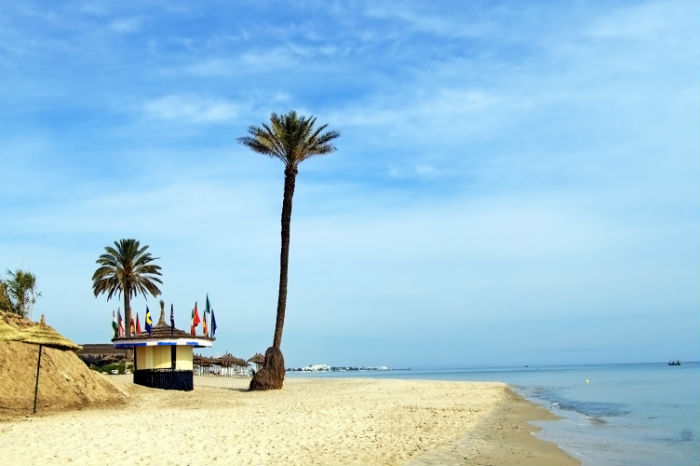 Beach In Tunisia