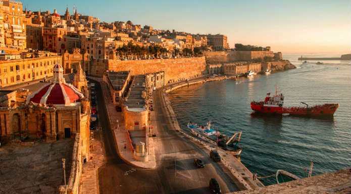 Valletta, capital city of Malta