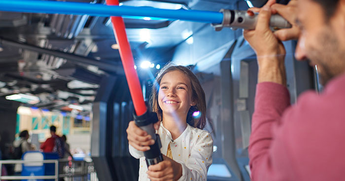 Family Star Wars Attraction