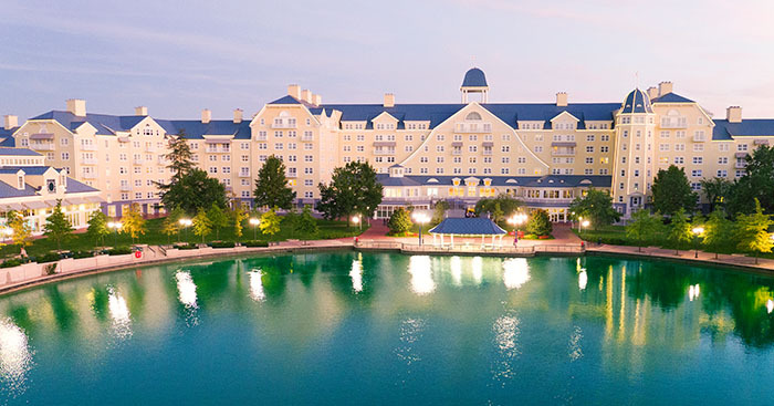 Hotel At Disneyland Paris