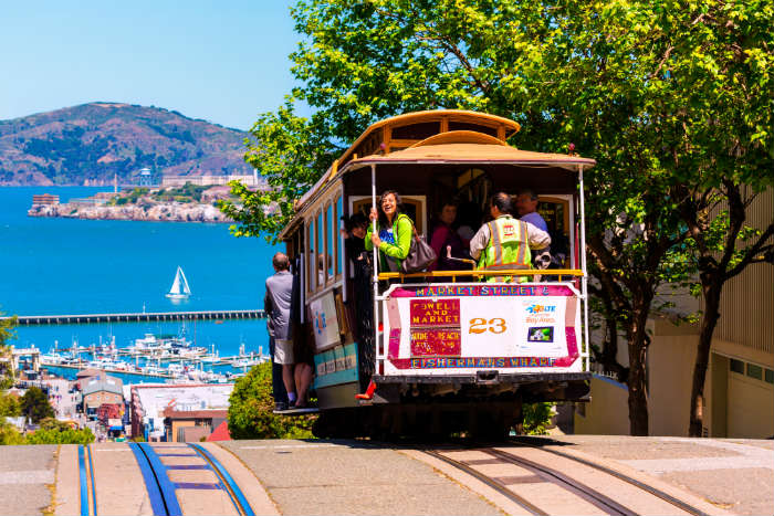 Things you need to do on a weekend in San Francisco - San Francisco Cable Car