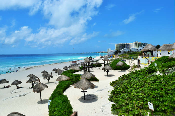 Cancun tropical holiday