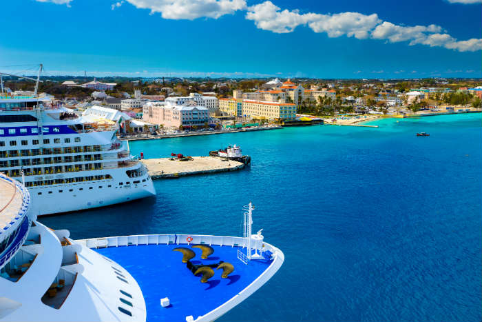 All inclusive cruise ship in Caribbean