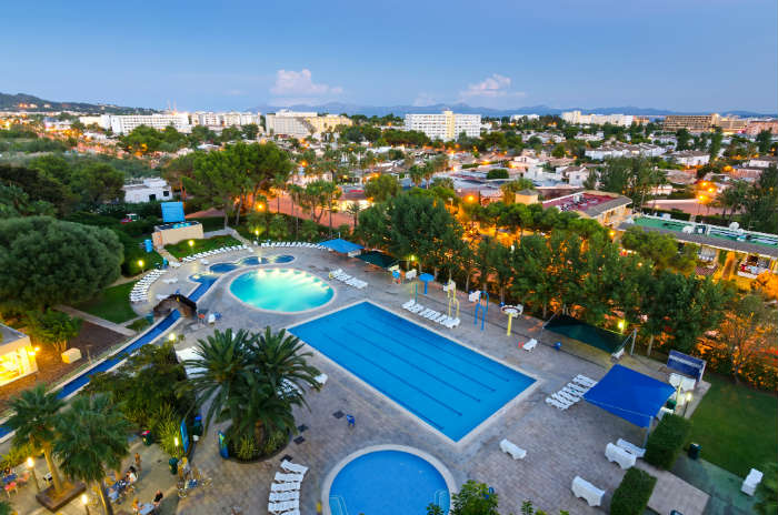 All inclusive resort-Majorca