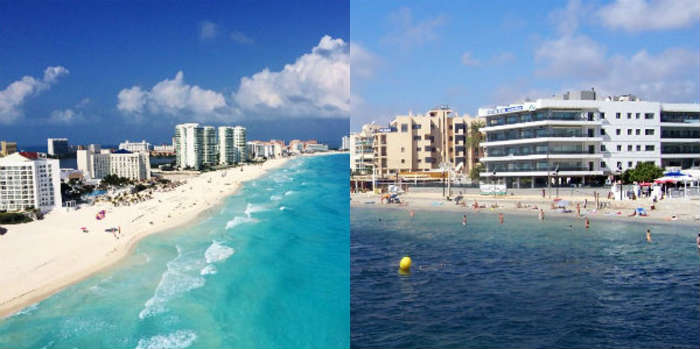 Cancun vs Playa d'en Bossa honeymoon