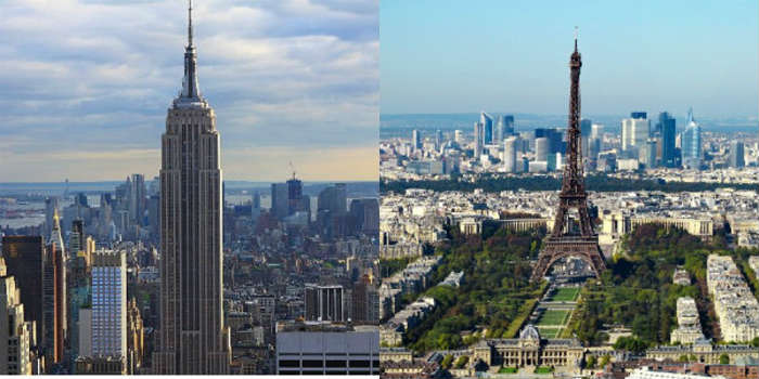 New York vs Paris honeymoon