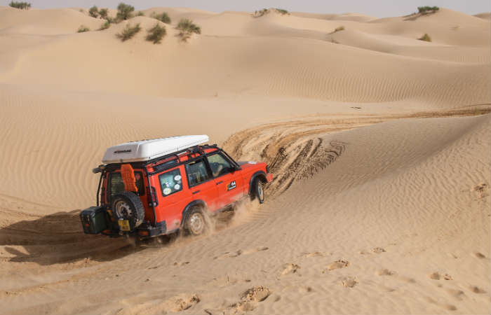 Desert tour in Tunisia