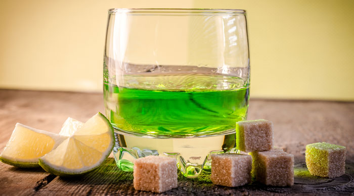Czech Republic national drink-absinthe