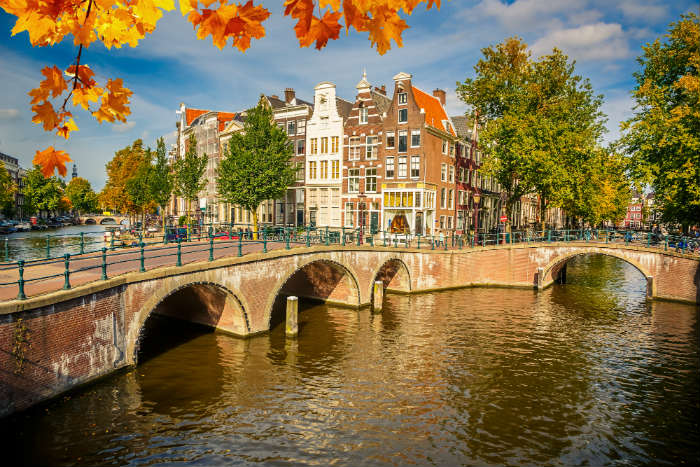 Amsterdam city break in autumn