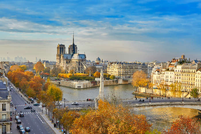 Paris city break in autumn