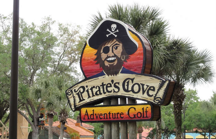 Pirates Cove Mini Golf, Orlando