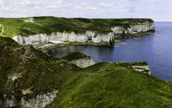Flamborough Head beach, Yorkshire