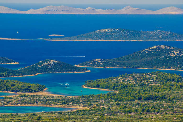 Kornati Islands national park, Croatia